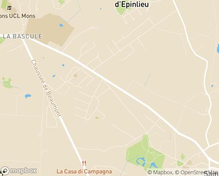 Localisation Foyer La Symphonie - 7030 - Saint-Symphorien