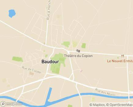 Localisation Résidence La Prévôté - 7331 - Baudour