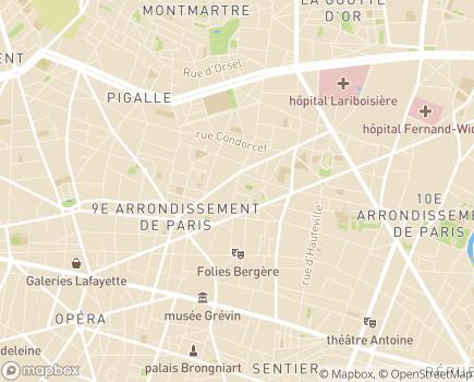 Localisation ANDICAT - Association Nationale des Directeurs et Cadres d'ESAT - 75009 - Paris 09