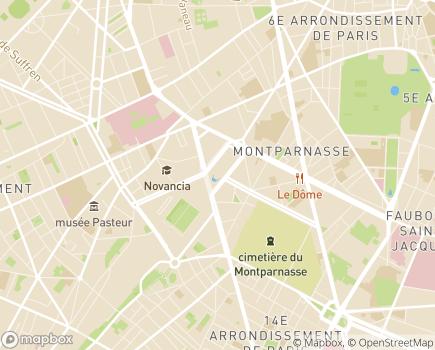 Localisation Fédération APAJH - 75755 - Paris 15