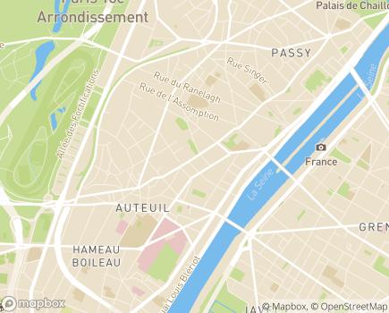 Localisation Apprentis d'Auteuil - 75781 - Paris
