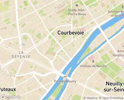 Localisation Maisons de Famille France - 92400 - Courbevoie