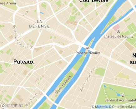 Localisation Groupe ORPÉA - 92813 - Puteaux
