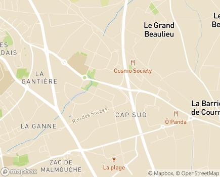 Localisation UNADERE - 63170 - Aubière