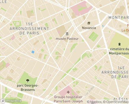 Localisation Epilepsie-France - 75015 - Paris 15