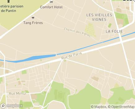 Localisation Générations Mouvement Fédération Nationale - 93013 - Bobigny