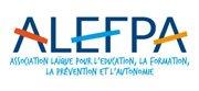 Logo ALEFPA Association laïque pour l'Éducation, la Formation, la Prévention et l'Autonomie
