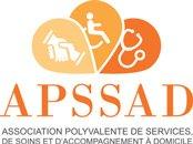 Logo APSSAD Association Polyvalente de services, de Soins et d'Accompagnement à Domicile