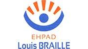 Logo EHPAD Louis Braille - Maison de Retraite pour Déficients Visuels