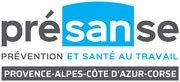 Logo Présanse Paca-Corse Association des Services de Santé au Travail