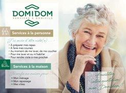 Services d'Aide et de Maintien à Domicile - 27400 - Louviers - Domidom Services