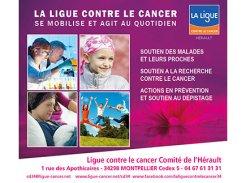Ligue Nationale contre le Cancer, Comité de l'Hérault - 34298 - Montpellier