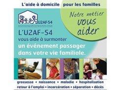 Services d'Aide et de Maintien à Domicile - 54000 - Nancy - U2AF-54 Union des Associations d'Aide à la Famille de Meurthe et Moselle